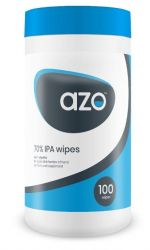 AzoWipe® 70% Isopropanol alcohol wipes(Tub of 100)