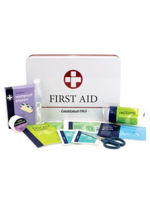 Retro Style First Aid Kit in tin
