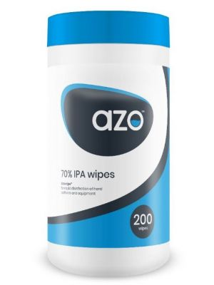 AzoWipe® 70% Isopropanol alcohol wipes