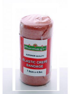 Crepe Bandage 7.5cm x 4.5m (10 per Pack)