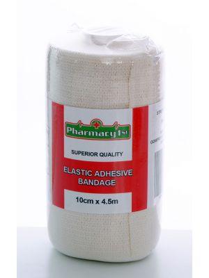 Elastic Adhesive Bandage 10cm x 4.5m (Each)