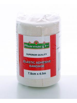 Elastic Adhesive Bandage 7.5cm x 4.5m (Each)