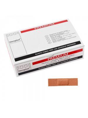 Straight Fabric Plasters 2.5cm x 7.5cm 100's